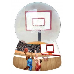 Glitzerkugel Basketball